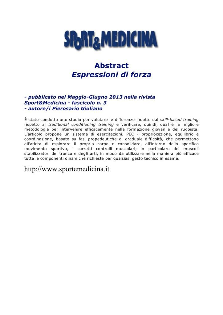 Sport&Medicina maggio-giugno 2013-2